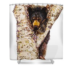 Hanging Shower Curtain