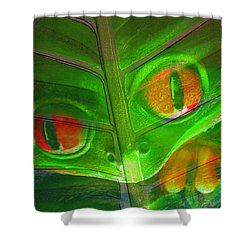 Happy Frog Shower Curtain by David Lee Thompson