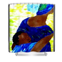 Happy Mother's Day 6 Shower Curtain