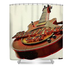 Hard Rock Cafe' Shower Curtain