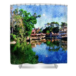 Harper's Mill Shower Curtain