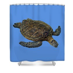 Hawaiian Sea Turtle Shower Curtain