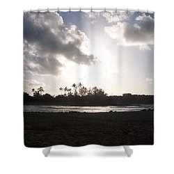 Hawaiian Morning Shower Curtain
