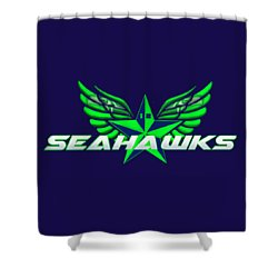 Hawks Wings Shower Curtain
