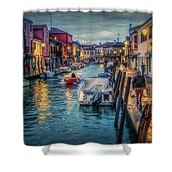 Heading For Home. Shower Curtain by Brian Tarr
