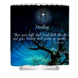 Healing Art By Sherri Of Palm Springs Shower Curtain