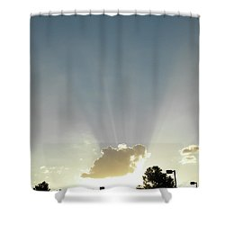Heavenly Rays Shower Curtain