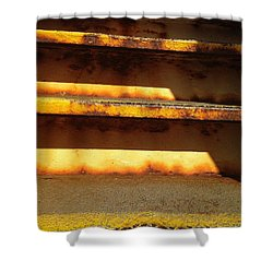 Shower Curtain featuring the photograph Heavy Metal by Olivier Calas