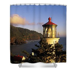 Heceta Head Lighthouse Shower Curtain by Greg Vaughn - Printscapes