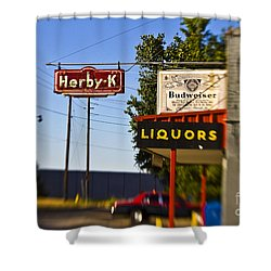 Herby K Shower Curtain by Scott Pellegrin