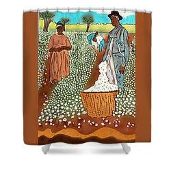 High Cotton Shower Curtain