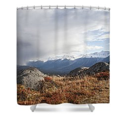 High Country In Fall Shower Curtain