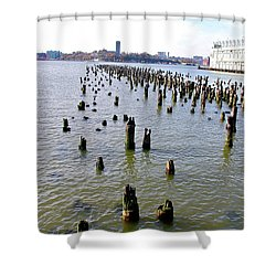 High Line Print 9 Shower Curtain
