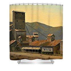 Hillbilly Highrise Shower Curtain