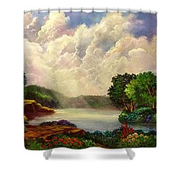 His Divine Creation Shower Curtain