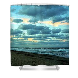 Hobe Sound, Fla Shower Curtain by John Wartman