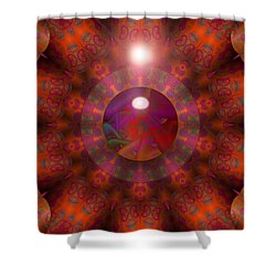 Shower Curtain featuring the digital art Hold On by Robert Orinski