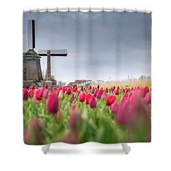 Holland Windmill Shower Curtain