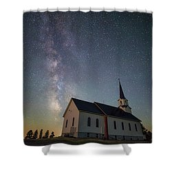 Shower Curtain featuring the photograph Holy  by Aaron J Groen