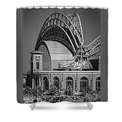 Home Of The Milwaukee Brewers Shower Curtain