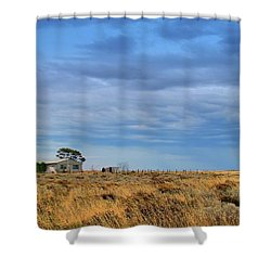 Shower Curtain featuring the photograph Homestead by Tim Nichols
