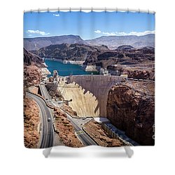 Hoover Dam Shower Curtain by RicardMN Photography