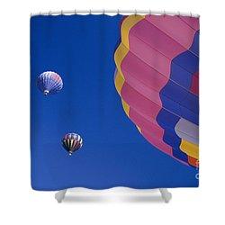 Hot Air Balloons Shower Curtain by Greg Vaughn - Printscapes