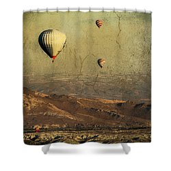 Going On A Magical Ride Shower Curtain