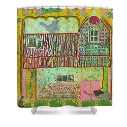 House #3 Shower Curtain