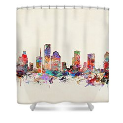 Houston Texas Shower Curtain