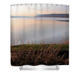 Hudson River Vista Shower Curtain