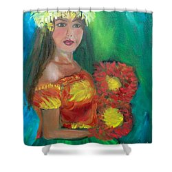 Hula 1 Shower Curtain