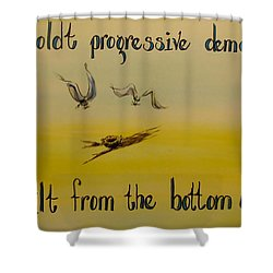 Humboldt Progressive Democrats Shower Curtain