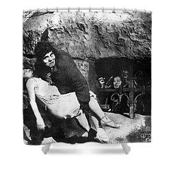 Hunchback Of Notre Dame Shower Curtain by Granger