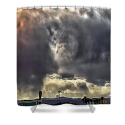 Shower Curtain featuring the photograph I Am That, I Am by Michael Rogers