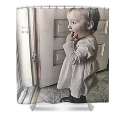 I Hope You Dance Shower Curtain