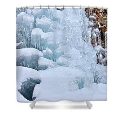 Ice Mosaic Shower Curtain