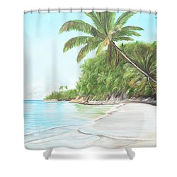 In Paradise Shower Curtain