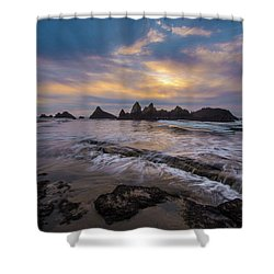 Incoming Tide 2 Shower Curtain