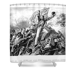 India: Sepoy Rebellion, 1857 Shower Curtain by Granger