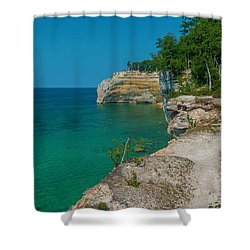 Indian Head  Shower Curtain