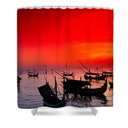 Indonesia, Bali Shower Curtain by Gloria & Richard Maschmeyer - Printscapes