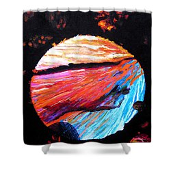 Inspire Three Shower Curtain by Stan Hamilton