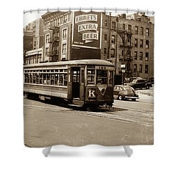 Inwood Trolley Shower Curtain