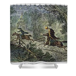 Irving: Sleepy Hollow Shower Curtain by Granger