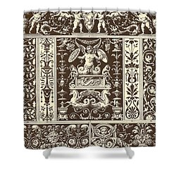 Italian Renaissance Shower Curtain