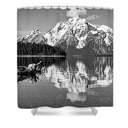 Jackson Lake, Gtnp  Shower Curtain