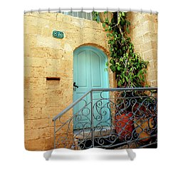 Jaffa-israel Shower Curtain by Denise Moore