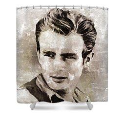 James Dean Hollywood Legend Shower Curtain