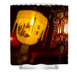 Japanese Lanterns 6 Shower Curtain
